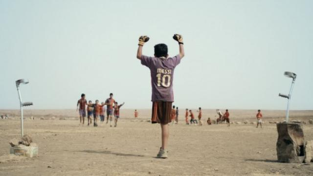 film still Baghdad Messi